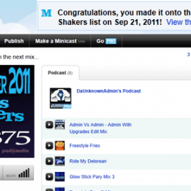 podomatic movers and shakers list sept 2011