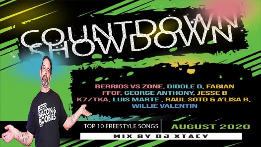 August Coundown Showdown with DJ Xtacy
