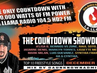 Countdown Showdown December 2020