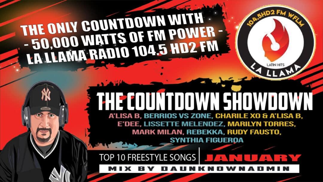Countdown Showdown - January 2021