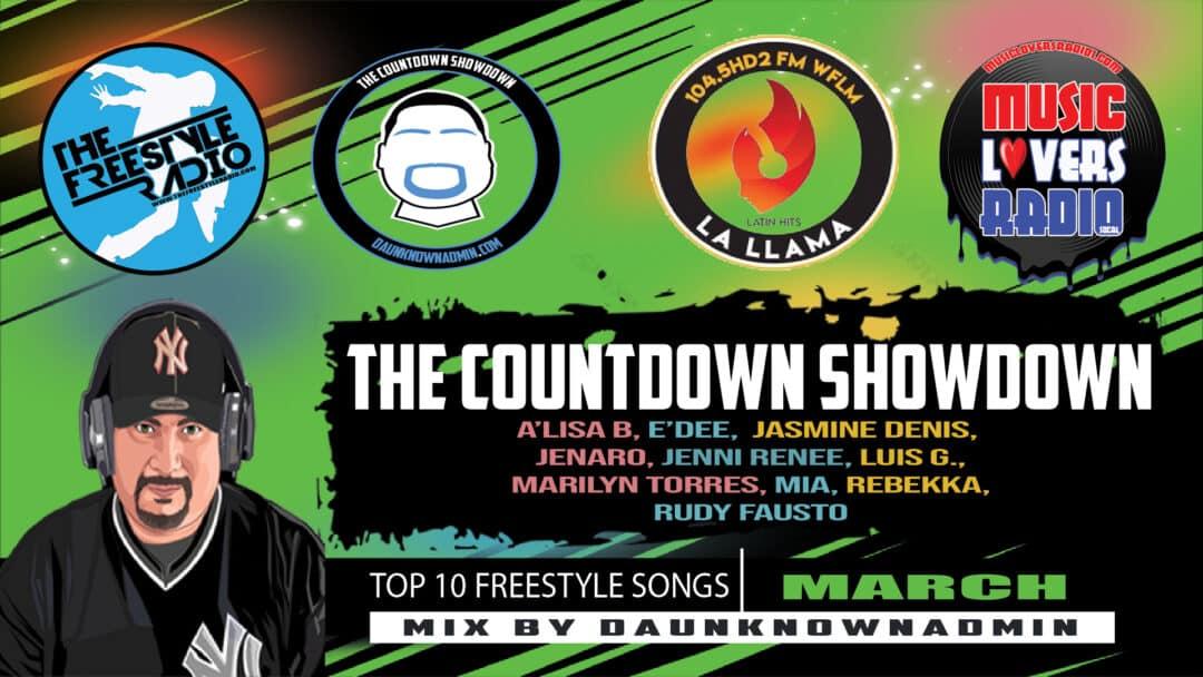 Countdown Showdown March 2021